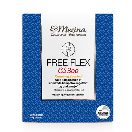 Mezina Free Flex CS300 180 tabl.