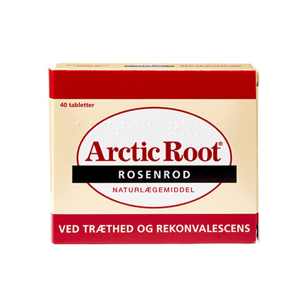 Midsona Danmark Artic Root Rosenrod 40 tabl.