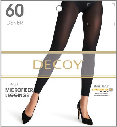 Decoy Microfiber Leggings 3D Sort 60 Den. M/L