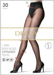 Decoy Shape & Comfort Leg & body optimizer Sort 30 Den. XL