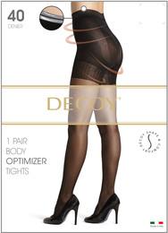 Decoy Shape & Comfort Body optimizer Sort 40 Den. XL