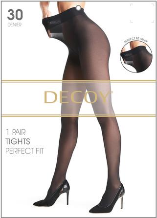Decoy Perfect fit Sort 30 Den. S/M