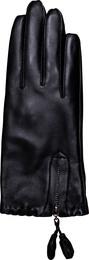 Decoy Læder handske m/lynlås XL