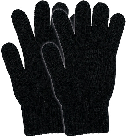 Laze Magic touch handske 2-pak sort/sort One size