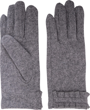 Laze Uld handske grå M/L