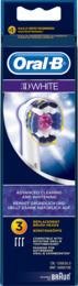 Oral-B (Braun) 3D White udskiftelige elektriske børstehoveder 3 stk.
