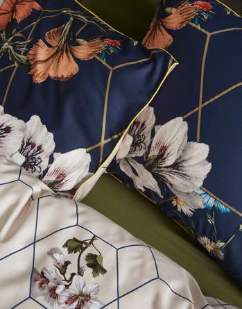 Essenza Abigail Sengetøj Dark Blue 140 x 200 cm