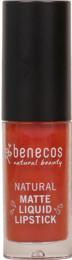 Benecos Matte Liquid Lipstick Desert Rose