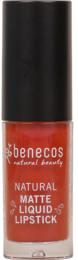 Benecos Matte Liquid Lipstick Trust In Rust