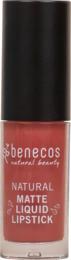 Benecos Matte Liquid Lipstick Rosewood Romance