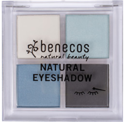 Benecos Quattro Eyeshadow True Blue