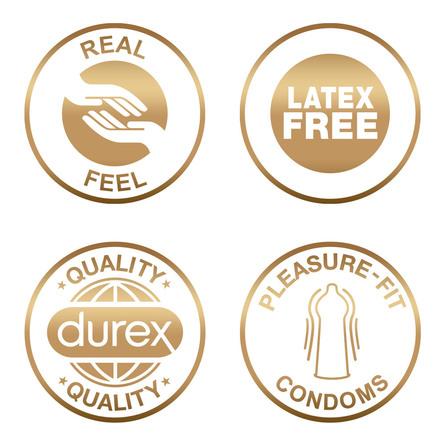 Durex Real Feel (latexfri) kondom 6 stk