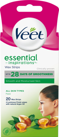 Veet Face Essentials 20 stk