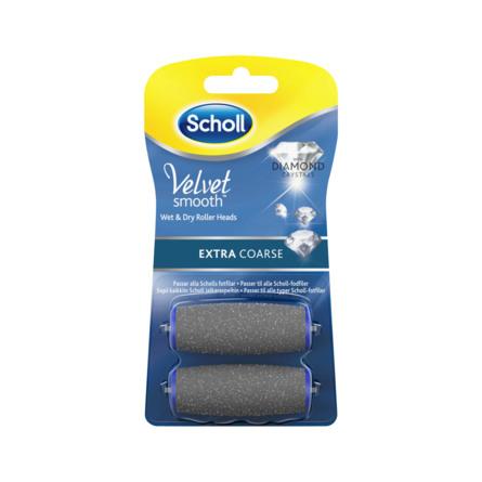 Scholl Refill Velvet Smooth Extra Coarse 2 stk
