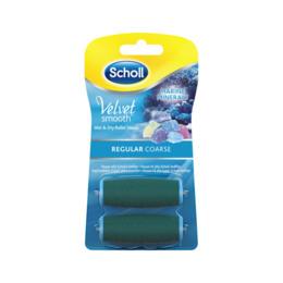 Scholl Velvet Smooth Refill Regular Coarse 2 stk