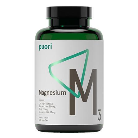 Magnesium M3 Puori 120 kaps.