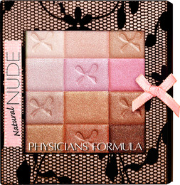 Physicians Formula Shimmer Strips All-In-1 Nude Palette For Face & Eyes Natural Nude