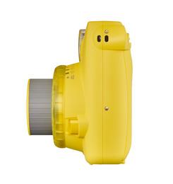 Instax Mini9 Analog Instant Kamera Clear Yellow