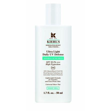 Kiehl's Ultra Light Daily UV Defense Mineral Sunscreen SPF 50+++ 50 ml