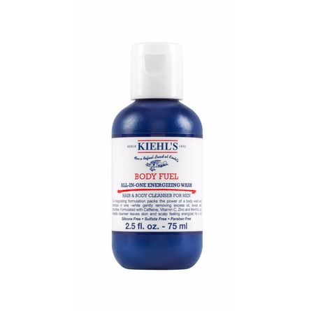 Kiehl's Body Fuel All-in-One Energizing & Conditioning Wash Rejsestørrelse 75 ml