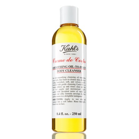 Kiehl's Creme de Corps Smoothing Oil to Foam Body Cleanser 250 ml