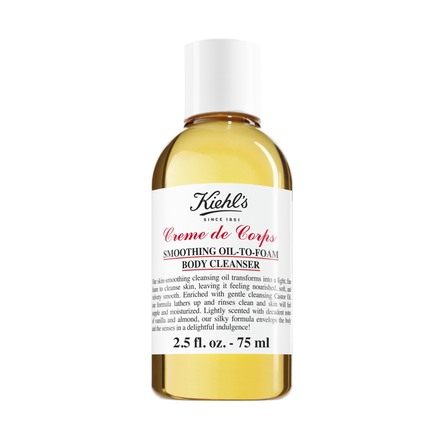 Kiehl's Creme de Corps Smoothing Oil to Foam Body Cleanser 75 ml