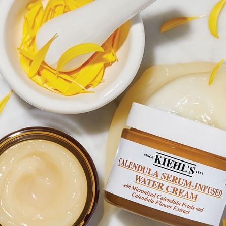 Kiehl's Calendula Serum-Infused Water Cream 28 ml