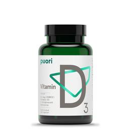 Vitamin D3 Kokos Puori 120 kapsler