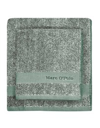 Marc O'Polo Melange Towel Pine green 50 x 100 cm
