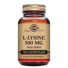 Nordic Premium L-Lysin Aminosyre 500 mg.  50 kaps.