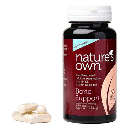Panacea Knogler - Bone Support Wholefood 60 kaps