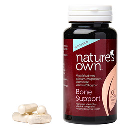 Panacea nogler - Bone Support Wholefood 60 kaps