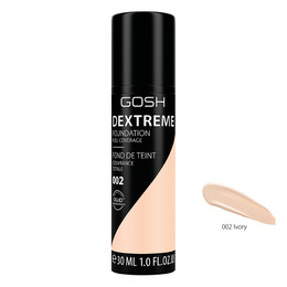 Gosh Copenhagen Dextreme Full Coverage Foundation 002 Ivory