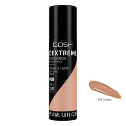 Gosh Copenhagen Dextreme Full Coverage Foundation 008 Golden