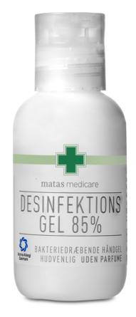 Matas Medicare Desinfektionsgel 85% 50 ml