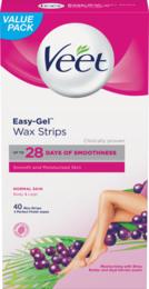 Veet Wax Strips til Normal Hud 40 stk