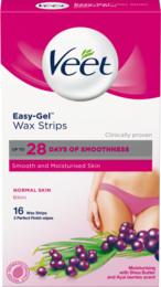 Veet Cold Wax Strips Bikini Normal Hud 16 stk