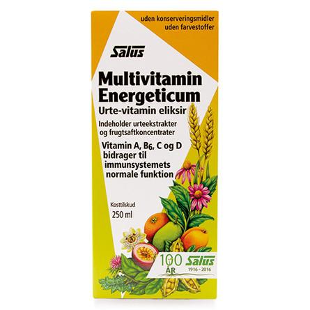 Multivitamin energeticum eliksir Salus 250 ml