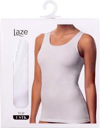 Laze Top/Singlet 1-pak Hvid Str. S
