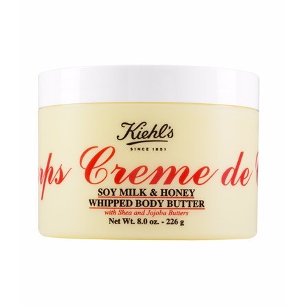 Kiehl's Creme de Corps Soy Milk & Honey Whip Body Cream 226 g