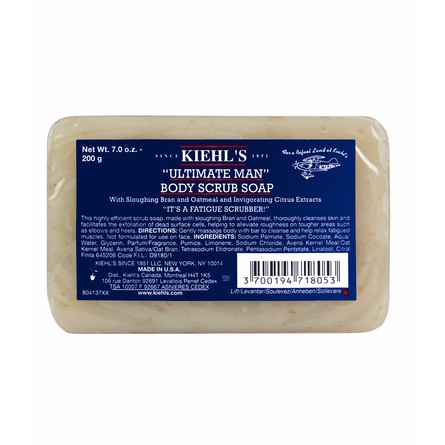 Kiehl's Men's Scrub Soap 200 g
