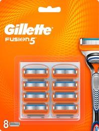 Gillette Fusion5 Barberblade 8 stk.