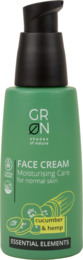 Grøn Face Cream Cucumber & Hemp 50 ml