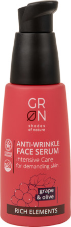 GRN Organics Face Serum Grape & Olive 30 ml