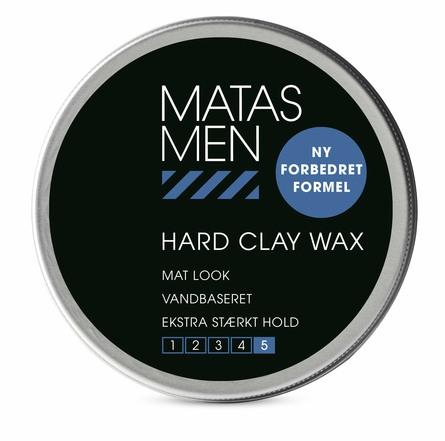 Matas Striber Men Hard Clay Wax 75 ml