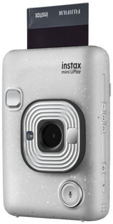 Instax LiPlay Hybrid Kamera Stone White