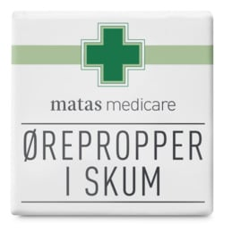 Matas Medicare Ørepropper i Skum 1 Par