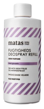 Matas Striber Deospray Refill Uden Parfume 150 ml