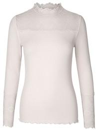 Rosemunde Silk T-shirt Soft Powder str. S