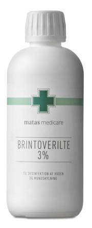 Matas Medicare Brintoverilte 3% 250 ml